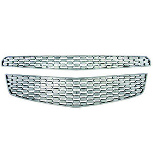 New Chrome Grille Overlay Insert For 2010 2011 Chevy Equinox Ls Lt