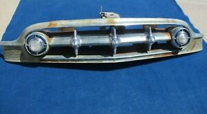 1953 Chevy Bel Air 210 150 Car Complete Grill Very Solid Condition