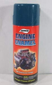 Aervoe 561 Engine Enamel Paint Chevrolet Blue 12oz Can Case Of Six Cans