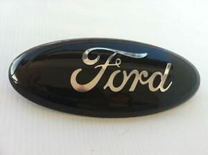 9 Ford black Tailgate Grille Emblem stick On f 150 Custom Paint 1 Emblem