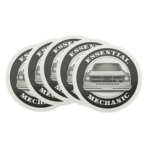 Essential Mechanic Usa Novelty Sticker Decal 5 Pack For Shop Tool Box Garage