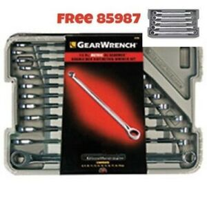 Gearwrench 12 Pc 85988 Xl Double Box Metric Wrench W 85987 Equals 85989