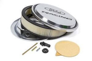 Proform Slant Edge Fits Ford Racing Air Cleaner Polished 302 383