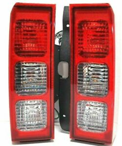 Tail Lamp Set For 2007 2010 Hummer H3 Alpha Adventure Base With Bulbs