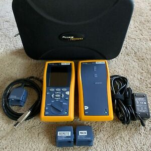 Fluke Networks Dtx 1200 Cable Analyzer With Smart Remote Cat 6
