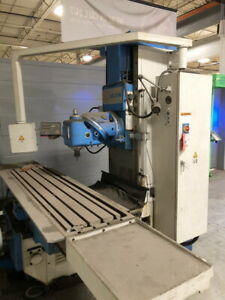 20 X 83 2010 Knuth Kb 2100 Bed type Universal Milling Machine