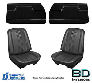 1970 Chevelle Convertible Bucket Rear Bench Covers Front Panels Any Color