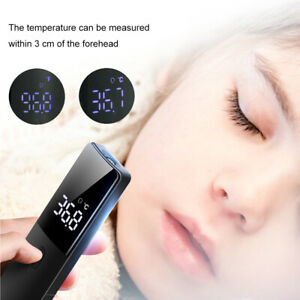 Digital Non contact Infrared Forehead Thermometer Ir Gun Ear Adult Baby Body Lcd