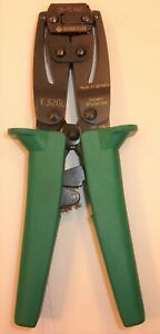 Greenlee K32gl Ratcheting Crimper 26 10 Awg Wire hand Crimping Tool Ferrules
