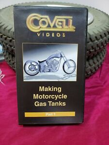 Ron Covell Making Motorcycle Tanks Part One Vhs Video