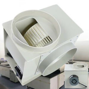 Centrifugal Blower Exhaust Fan For Medicine Cabinets Lab Fume Hood Anti corrosio
