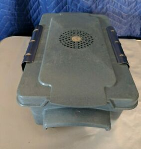 Vintage Steris Plastic Surgical Instrument Sterilization Container W Tray