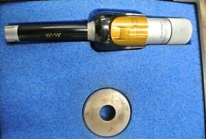 Fowler Bowers Vernier Micrometer Intrimik 1 2 5 8 W Ring Hole