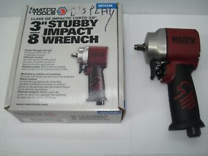Matco Mt2738 3 8 9 000 Rpm Stubby Impact Wrench New