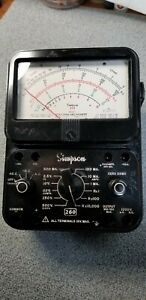 Simpson 260 Analog Multimeter Ohmmeter Voltmeter Ammeter Series 7 Working