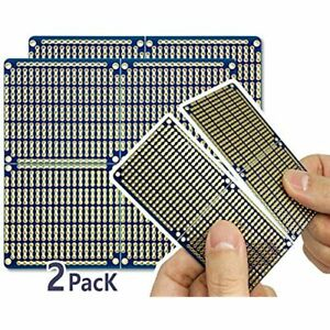 Snappable Pcb Strip Board With Power Rails For Arduino And Electronics 2 amp