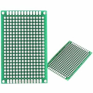 50 Pcs Double Sided Protoboard Prototyping Pcb Prototype Universal Printed Board