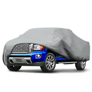 Waterproof Car Pickup Truck Cover Uv Dust Rain Protection Outdoor For Ford F 150