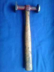 Vintage Porter Ferguson Bh 4 Auto Body Hammer Round Square Smooth Faces