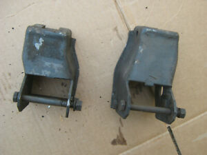 1966 67 Chevy Ii Nova 327 350hp V8 Engine Frame Motor Mount Brackets Gm Original