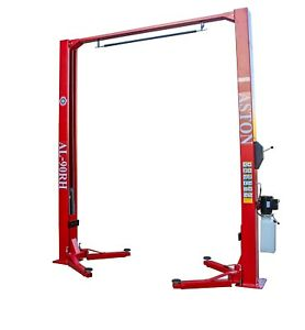 9 000 Lbs 2 Two Post Lift Car Auto Truck Lift Hoist Single Point Release