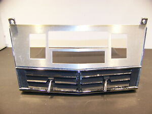 1968 Chrysler 300 Radio A c Bezel W Vents Oem 2884029 2837286 New Yorker