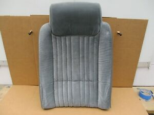 1984 1985 1986 1987 Cutlass Salon 442 Seats Lh Gray Upper Bucket Seat Back Oem