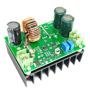 Dc dc Constant Current Voltage Regulator Step up Converter 12v 60v To 12v 80v