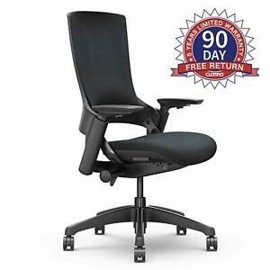 3d Arm Rest Lumbar Support And Upholstered Back For Home Office Bifma Certified