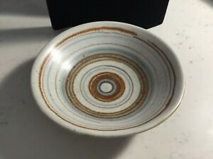 VINTAGE RARE AUTHENTIC SIGNED GLIDDEN FONG CHOW GULFSTREAM STRIP BOWL NO RES