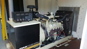 2000 Kohler 80kw Generator Set Natural Gas