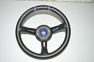 Jdm Acura Rsx Dc5 Itr Momo Drifting Italy Leather Steering Wheel Good Condition