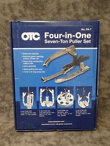 Pa 7 Otc Four In One Puller Set 7 Ton Puller