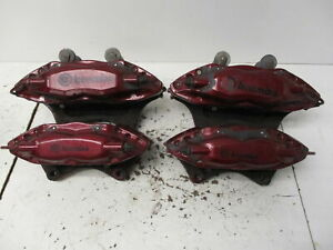 10 11 12 13 14 15 Chevrolet Camaro Ss Front And Rear Caliper Set Brembo Oem