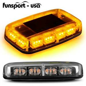 Amber Rooftop 36 Led Emergency Strobe Light Car Truck Hazard Flash Beacon Light