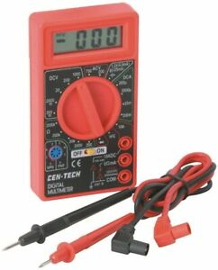 7 Function Digital Multimeter Voltmeter Voltage Tester Auto Electrical Brand new