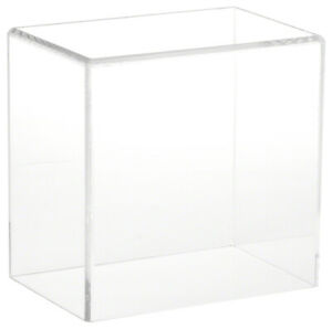 Plymor Clear Acrylic Display Case With No Base 6 W X 4 D X 6 H