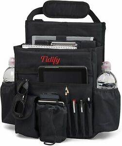 Front Seat Organizer With Dedicated Tablet Laptop Storage