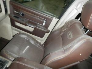 Passenger Front Seat Bench Leather Fits 12 18 Dodge 2500 Pickup 688697