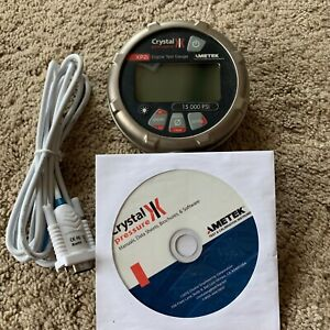 Ametek Crystal Engineering Xp2i Digital 15k Pressure Gauge W Datalogger 15000