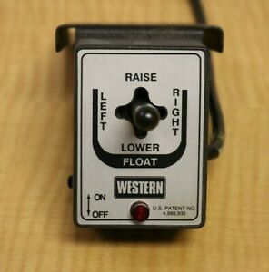 Western Fisher Snow Plow Controller Plow Control Electric Joystick 6 Pin