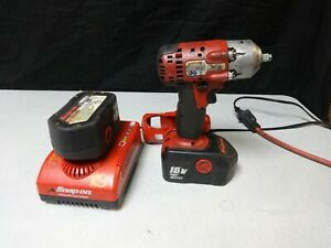 Snap on Impact Wrench 3 8 Drive Ni Cad Ct4418