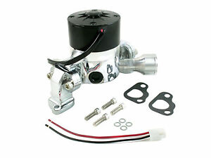 Chrome Electric Water Pump For Ford Small Block 351c Hi Flow Racing Water Pump