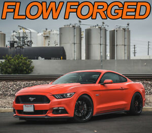 19 X 10 11 P51 Flow Forged Set Wheels 2015 Ford Mustang Gt Eco S550 Lug Nut