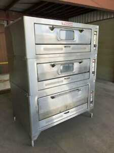 Vulcan 7018a1 Natural Gas Ss Restaurant Commercial Kitchen Pizza Oven