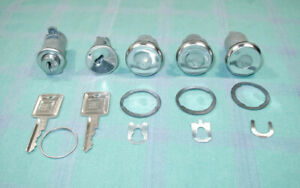 1967 1972 Chevrolet Gmc Suburban And Panel Truck Oem Complete Matched Lock Set
