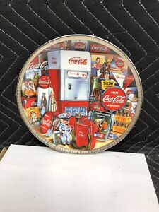 "1995 The Eras of Coca Cola 1970-1980 Numbered Edition 8"" Collectors Plate #4219"