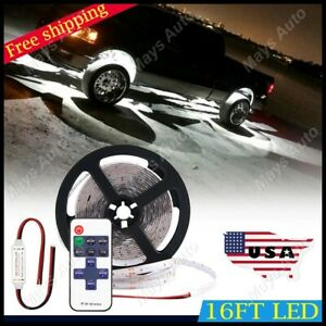 For Ford F150 F250 White Neon Under Car Accent Underbody Led Glow Lights