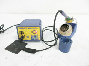 Hakko Soldering Station Fp 102 W Fm 2027 Wand Holder And 599b Tip Cleaner