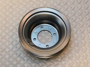 Ford Dooe 6312 c 302 351c 400m 3 Groove A c Crank Pulley 1970 71 72 Mustang